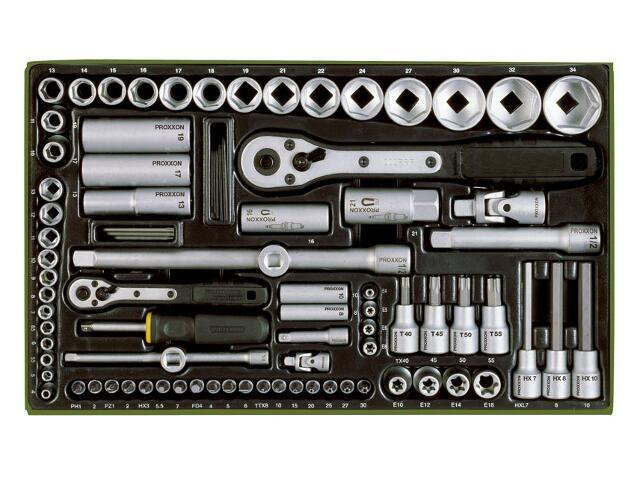 Zestaw kluczy nasadowych 86 części 23640 PROXXON