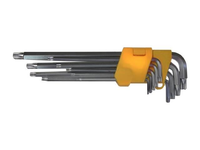 Zestaw kluczy sześciokątnych TORX T10-T50 8szt. 51001 MJW