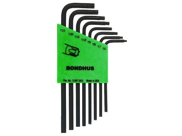 Zestaw kluczy sześciokątnych Torx 8szt. 31732 BONDHUS