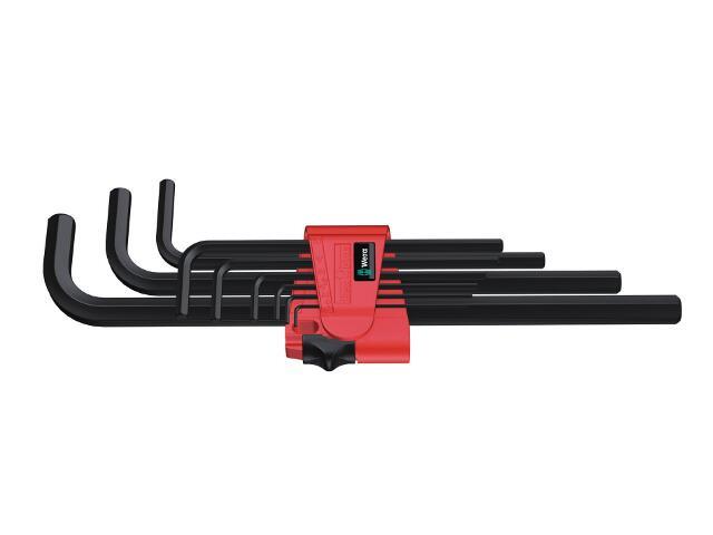 Zestaw kluczy sześciokątnych 9-CZ metryczne 950 L/9 BM N Wera