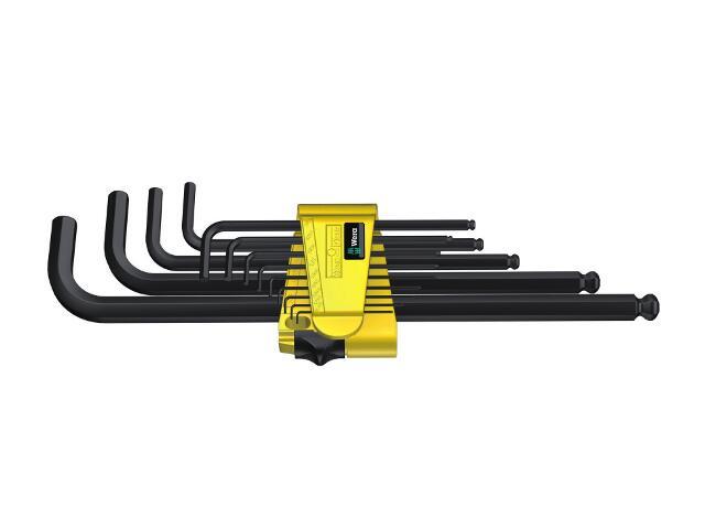 Zestaw kluczy sześciokątnych 13-CZ calowe 950 PKL/13 N Wera