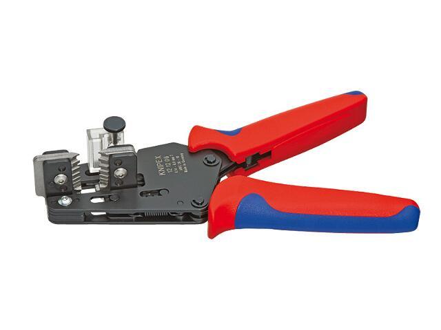 Automatyczny ściągacz izolacji DWK 180mm 12 12 06 Knipex