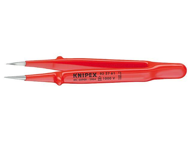 Pinceta precyzyjna izolowana 1000V 130mm 92 27 61 Knipex