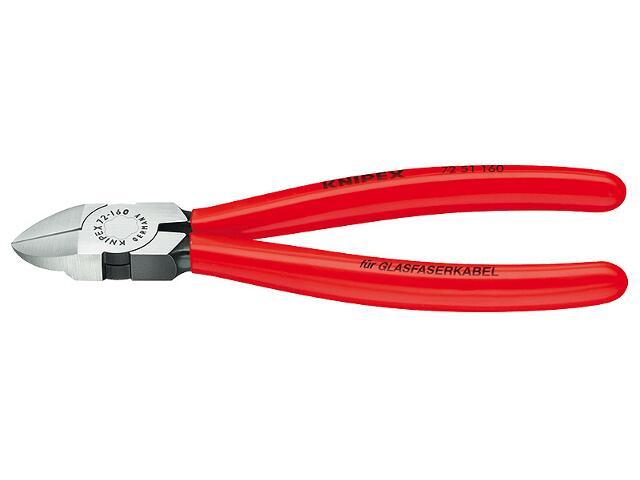 Szczypce boczne tnące do światłowodów 160mm PCV 72 51 160 Knipex
