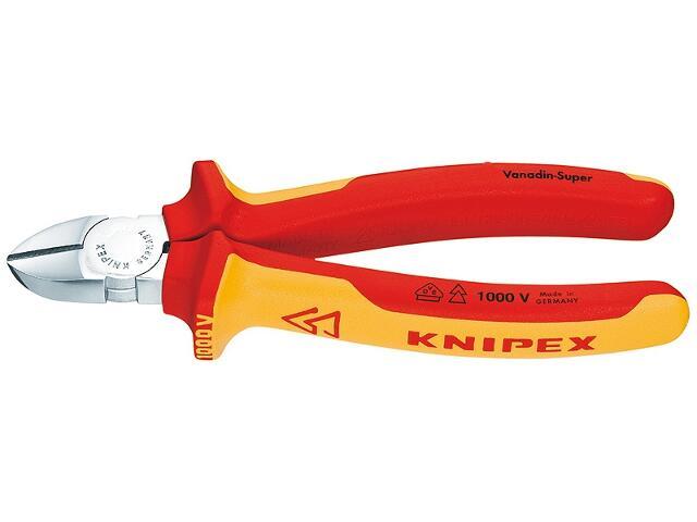 Szczypce boczne tnące 180mm VDE 1000V 70 06 180 Knipex