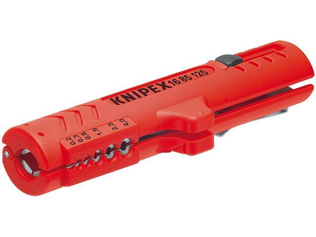 Przyrząd do ściągania izolacji od 0,2-4mm 16 85 125 SB Knipex