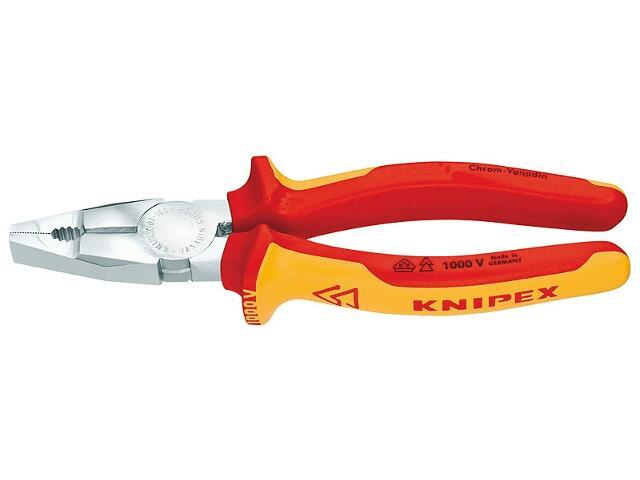 Szczypce uniwersalne VDE 160mm 1000V 01 06 160 Knipex