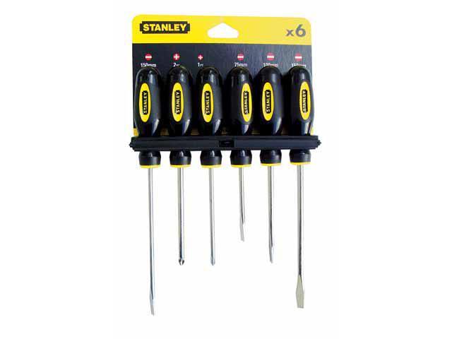 Zestaw wkrętaków Basic 6szt. 64-458 Stanley
