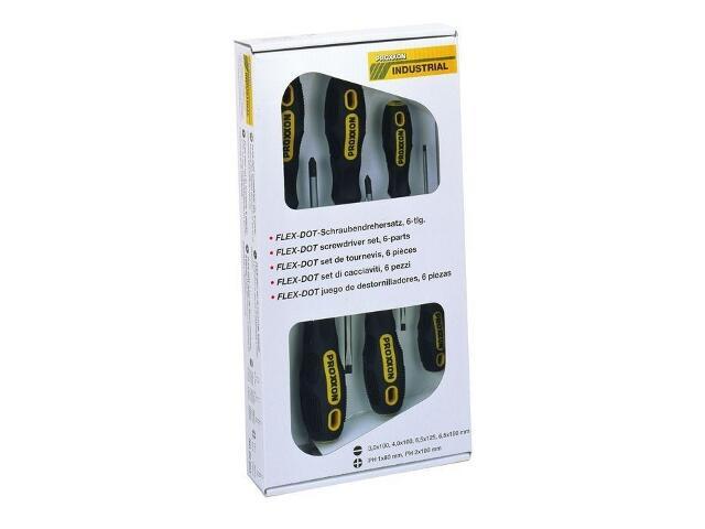Zestaw wkrętaków FLEX-DOT 6szt. 4 płaskie, 2 krzyżowe 22606 PROXXON
