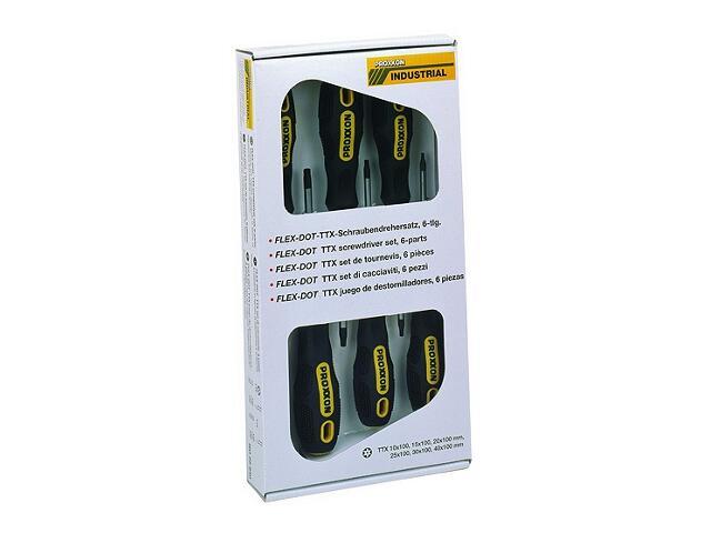Zestaw wkrętaków FLEX-DOT TTX 6szt. 22640 PROXXON