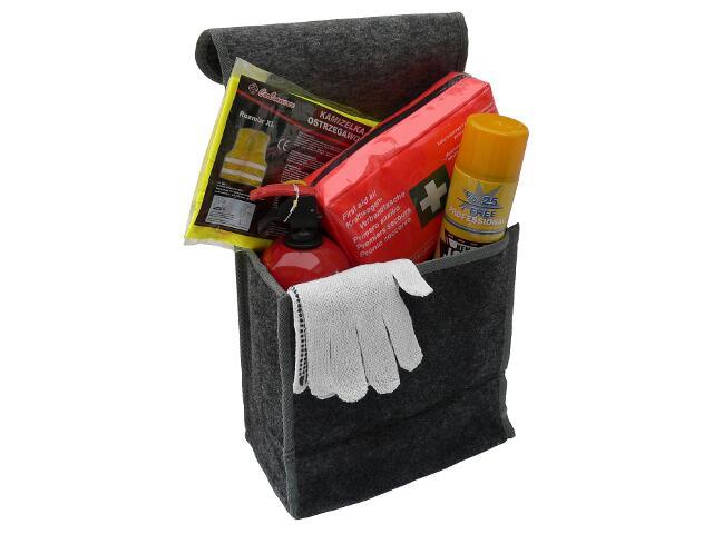 Organizer torba filcowa rozmiar A czarna CarCommerce
