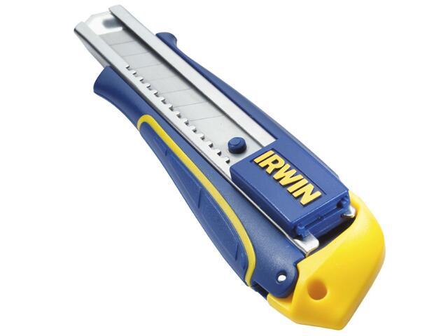 Nóż z ostrzami łamanymi Standard 18mm + 3 ostrza Irwin