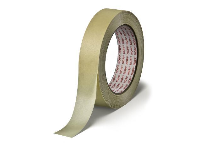 Taśma maskująca NOPI 19mmx45m żółta Tesa Tape