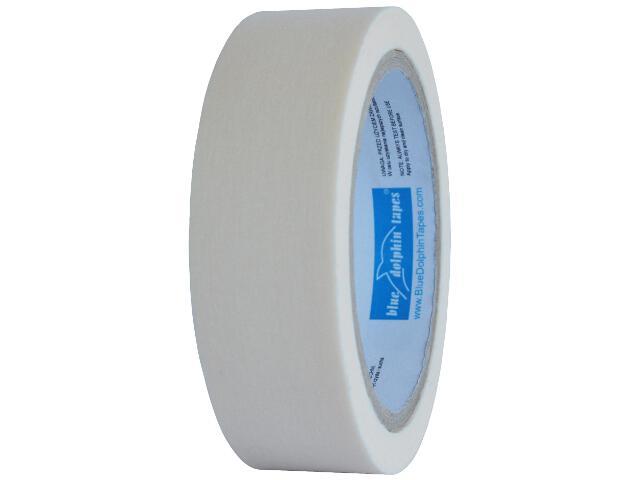 Taśma maskująca Low Tack na delikatne powierzchnie 30mmx25m Blue Dolphin Tapes