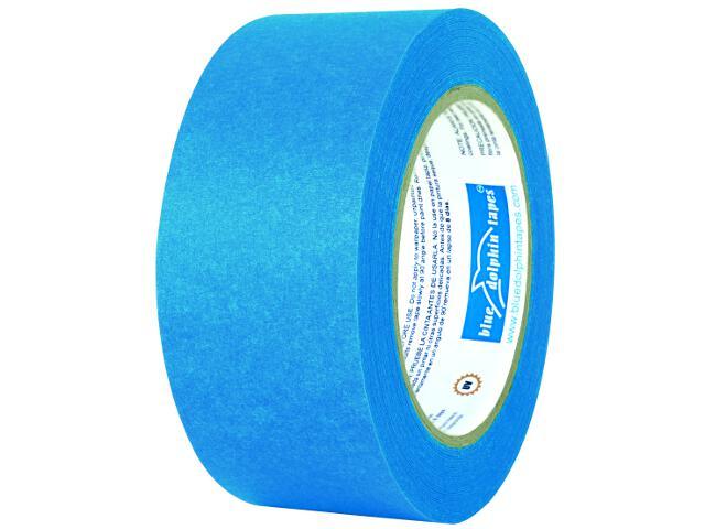 Taśma maskująca niebieska 48mmx50m Blue Dolphin Tapes