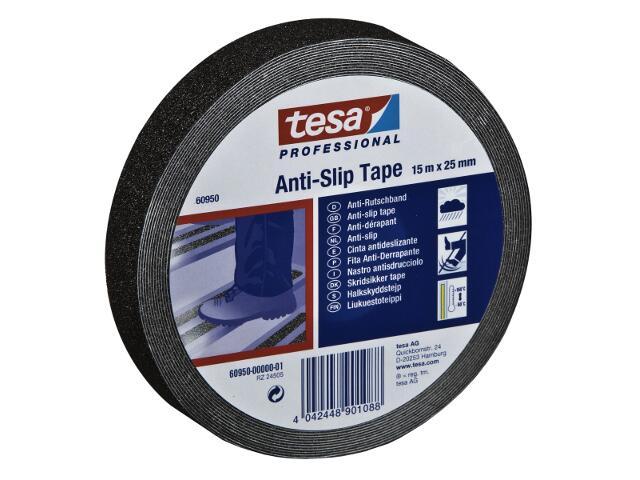 Taśma antypoślizgowa 25mmx15m czarna Tesa Tape