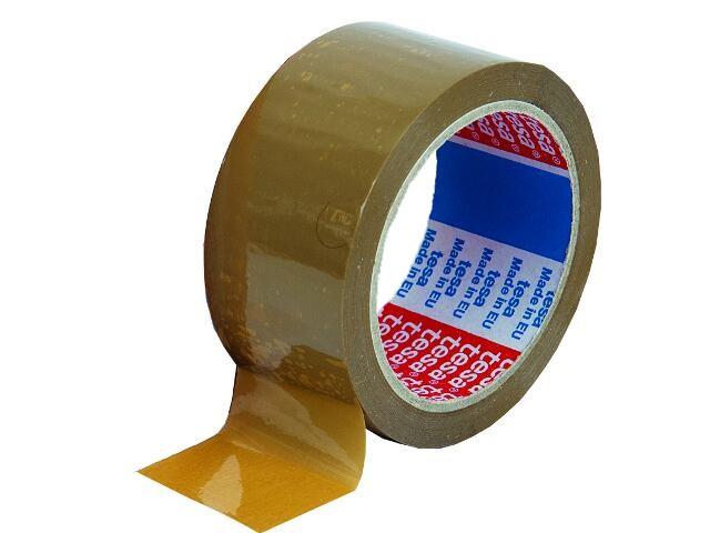 Taśma pakowa 48mmx66m brązowa Tesa Tape