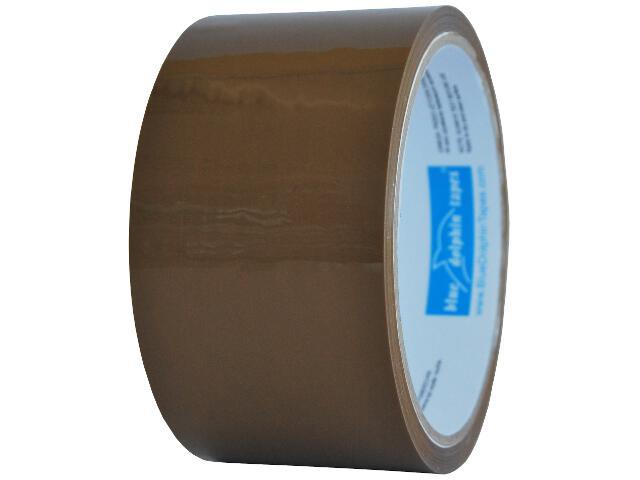 Taśma pakowa 48mmx40y brązowa Blue Dolphin Tapes