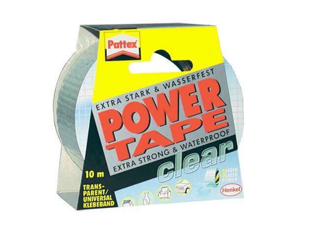 Taśma naprawcza Power Tape 50mmx10m przezroczysta Pattex