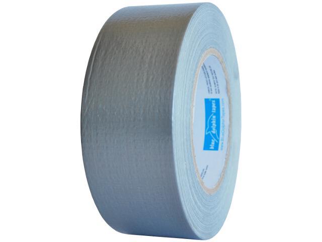 Taśma naprawcza Duct Tape srebrna 48mmx50y Blue Dolphin Tapes