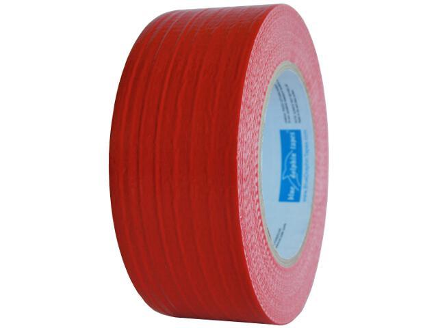 Taśma naprawcza Duct Tape czerwona 48mmx10y Blue Dolphin Tapes