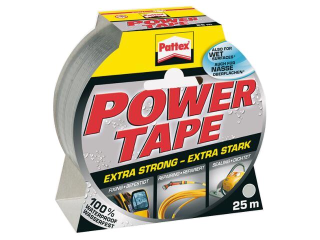 Taśma naprawcza Power Tape 50mmx25m srebrna Pattex