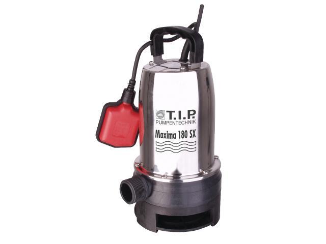 Pompa wodna elektryczna odwadniająca do brudnej wody Maxima 180 SX 500W T.I.P. Pumpen
