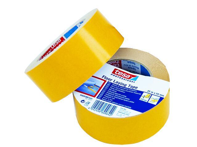 Taśma dwustronna 50mmx10m żółta Tesa Tape