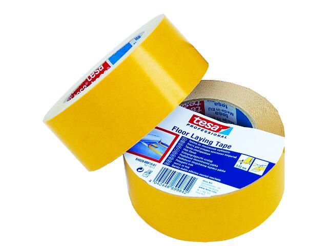 Taśma dwustronna 50mmx25m żółta Tesa Tape