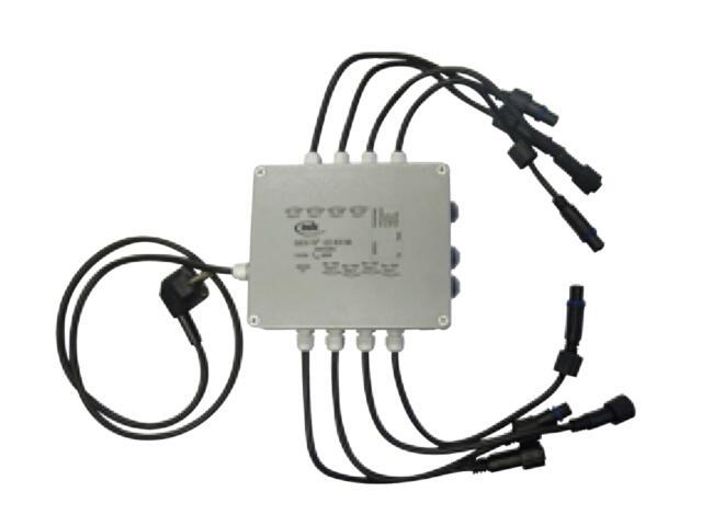 Puszka rozdzielcza z funkcją animacji, 8 ujściami do produktów Quick Fix LED MK Ilumination