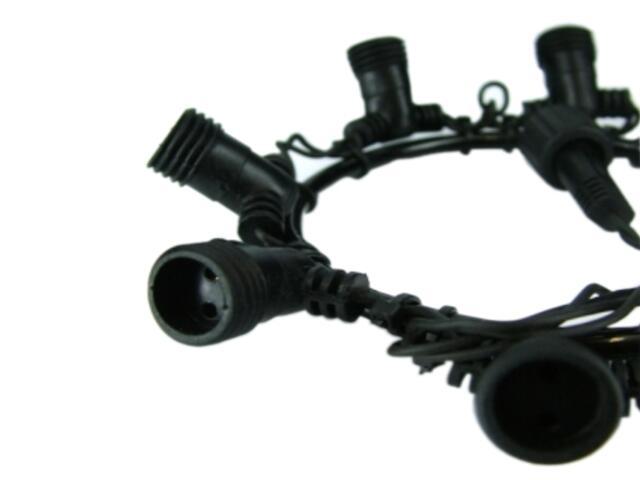 Rozdzielacz QUICK FIX z 7 wyjściami czarny MK Ilumination