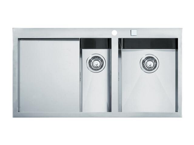 Zlewozmywak Planar PPX 651 1000x510mm komora z prawej 101.0027.766 Franke