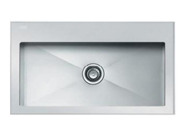 Zlewozmywak Crystal CYV 610 860x510mm stalowy/biały 101.0062.565 Franke
