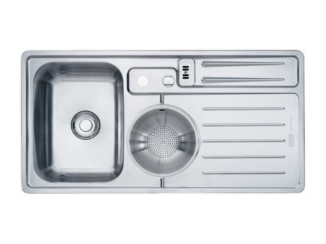 Zlewozmywak Active Kitchen AKX 654 1000x510mm komora z lewej 101.0067.165 Franke