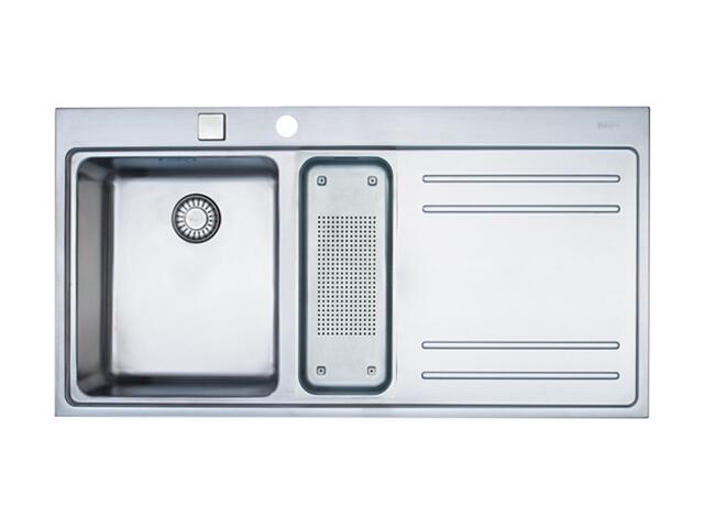 Zlewozmywak Mythos MTX 651 1000x520mm jedwab komora z lewej 101.0067.175 Franke