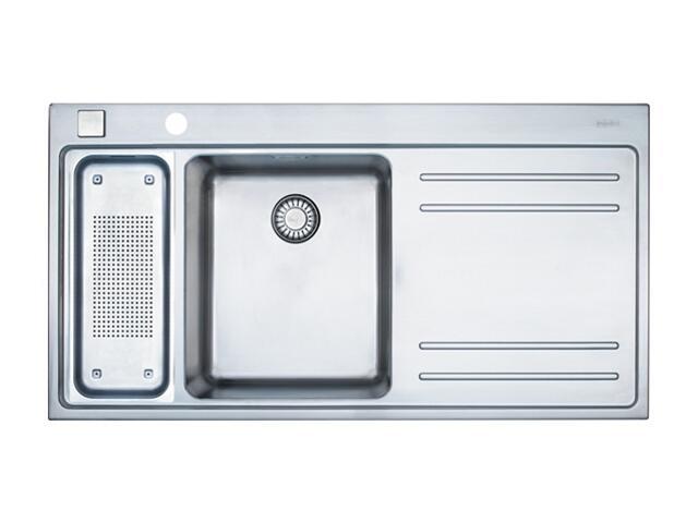 Zlewozmywak Mythos MTX 661 1000x520mm jedwab komora z lewej 101.0067.178 Franke