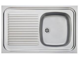 Zlewozmywak SARA 800x500mm SXX 711 komora lewa jedwab 103.0067.363 Franke