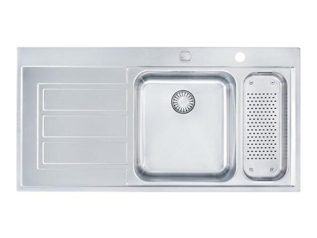 Zlewozmywak Epos EOX 661 1000x510mm jedwab komora z prawej 101.0168.356 Franke