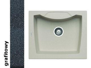 Zlewozmywak CALDERA 610x510mm 1B grafitowy 078001301 Pyramis