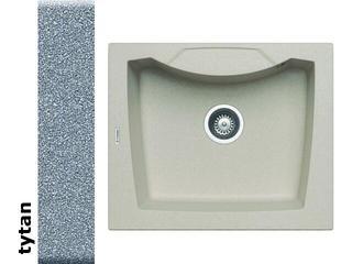 Zlewozmywak CALDERA 610x510mm 1B tytan 078001201 Pyramis