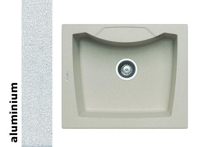 Zlewozmywak CALDERA 610x510mm 1B aluminium 078000801 Pyramis