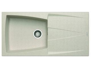 Zlewozmywak CALDERA 1000x500mm 1B1D beżowy 078200301 Pyramis