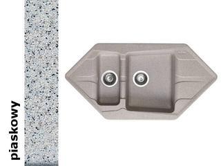 Zlewozmywak PETRA 1000x500mm 1 1/2B2D piaskowy 077700701 Pyramis