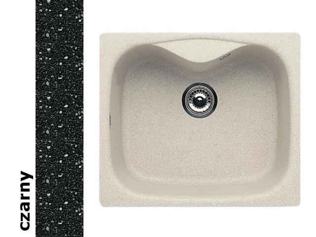 Zlewozmywak HYDRIA 580x500mm 1B1D czarny 074001001 Pyramis