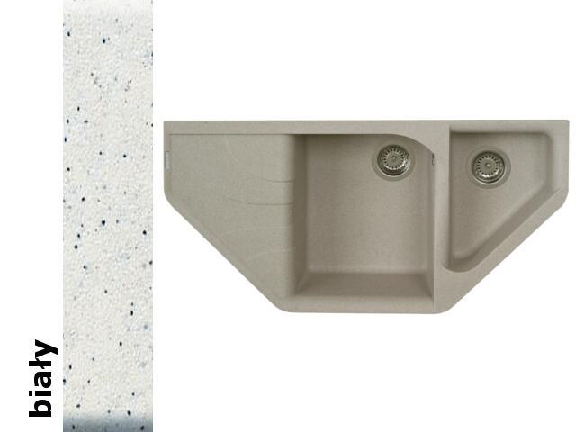 Zlewozmywak ATIVA 1000x500mm biały 076800001 Pyramis