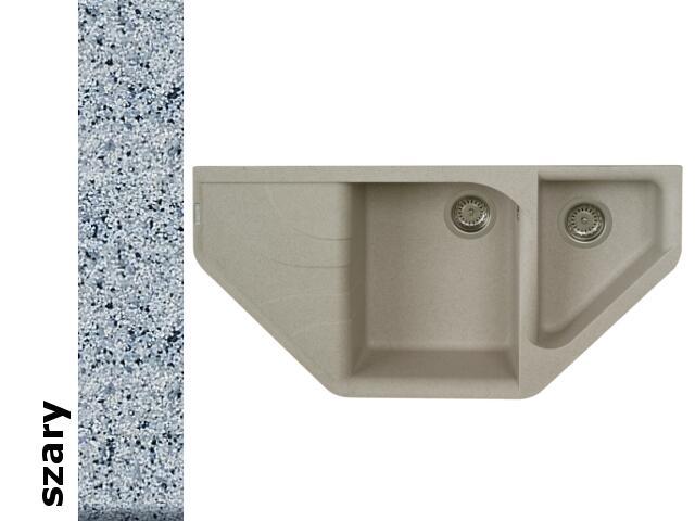 Zlewozmywak ATIVA 1000x500mm szary 076800601 Pyramis