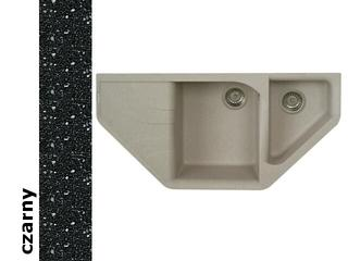 Zlewozmywak ATIVA 1000x500mm czarny 076801001 Pyramis