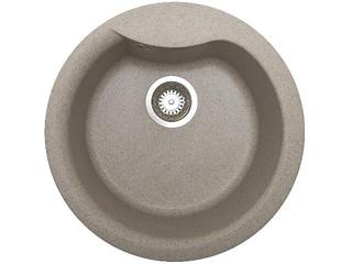 Zlewozmywak HYDRIA okrągły śred. 485mm 1B beżowy 073910301 Pyramis