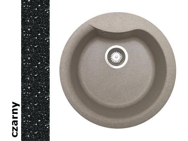 Zlewozmywak HYDRIA okrągły śred. 485mm 1B czarny 073911001 Pyramis