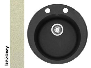 Zlewozmywak PAMIRA 510mm ROG 610-41 beżowy 114.0009.506 Franke